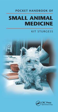 Pocket Handbook of Small Animal Medicine: 1st Edition (e-Book) book cover