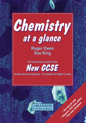 Chemistry at a Glance: Full Chemistry Content of the New GCSE, 1st Edition (e-Book) book cover