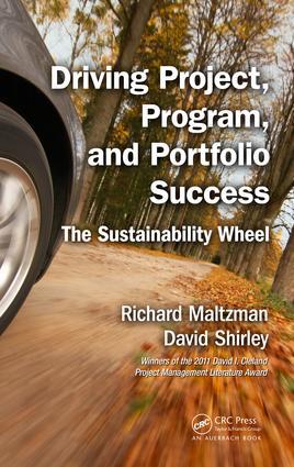 Driving Project, Program, and Portfolio Success: The Sustainability Wheel, 1st Edition (e-Book) book cover