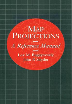 Map Projections: A Reference Manual book cover
