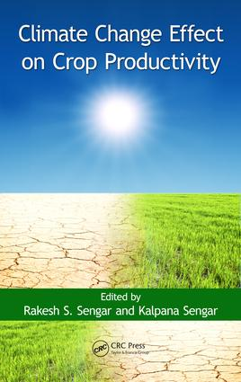 Climate Change Effect on Crop Productivity: 1st Edition (e-Book) book cover