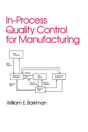 In-Process Quality Control for Manufacturing: 1st Edition (e-Book) book cover
