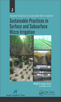 Sustainable Practices in Surface and Subsurface Micro Irrigation: 1st Edition (e-Book) book cover