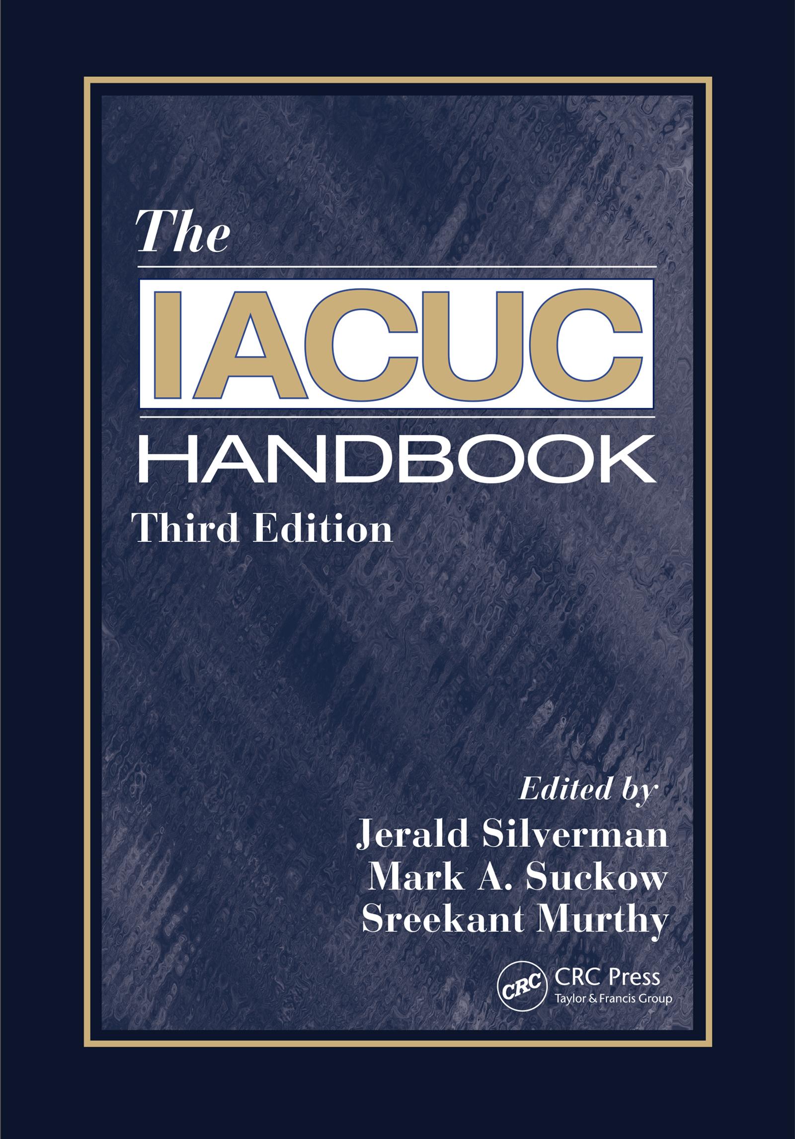 The IACUC Handbook: 3rd Edition (e-Book) book cover