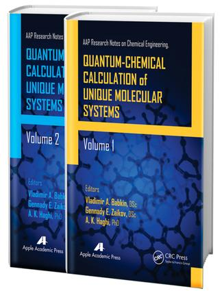 Quantum-Chemical Calculation of Unique Molecular Systems, Two-Volume Set: 1st Edition (e-Book) book cover