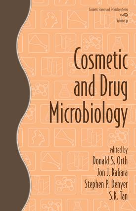 Cosmetic and Drug Microbiology: 1st Edition (e-Book) book cover