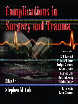 Complications in Surgery and Trauma: 1st Edition (e-Book) book cover