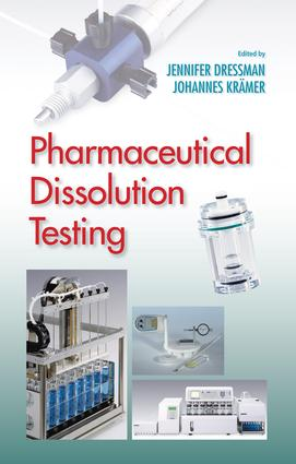 Pharmaceutical Dissolution Testing: 1st Edition (Hardback) book cover