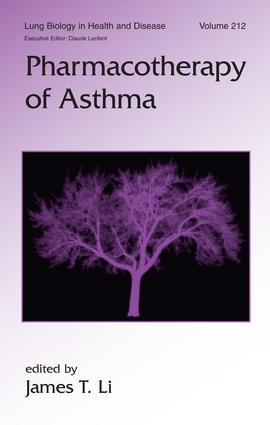 Pharmacotherapy of Asthma book cover