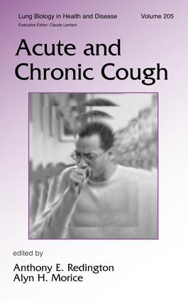 Acute and Chronic Cough: 1st Edition (Hardback) book cover