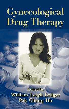 Gynecological Drug Therapy: 1st Edition (e-Book) book cover
