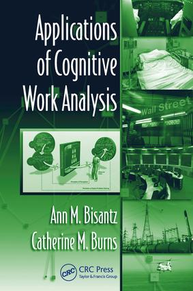 Applications of Cognitive Work Analysis: 1st Edition (e-Book) book cover
