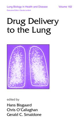 Drug Delivery to the Lung: 1st Edition (e-Book) book cover