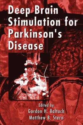 Deep Brain Stimulation for Parkinson's Disease: 1st Edition (Hardback) book cover