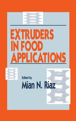 Extruders in Food Applications: 1st Edition (Hardback) book cover