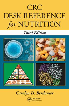CRC Desk Reference for Nutrition: 3rd Edition (e-Book) book cover