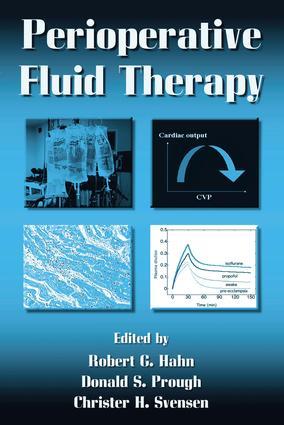Perioperative Fluid Therapy: 1st Edition (e-Book) book cover