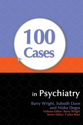 100 Cases in Psychiatry: 1st Edition (e-Book) book cover