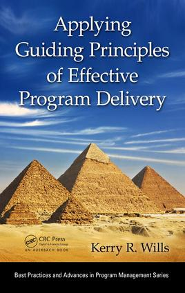 Applying Guiding Principles of Effective Program Delivery: 1st Edition (e-Book) book cover