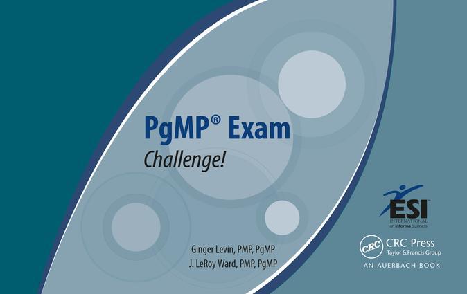 PgMP Exam Challenge!: 1st Edition (e-Book) book cover