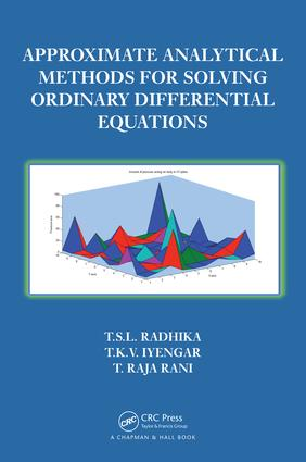 Approximate Analytical Methods for Solving Ordinary Differential Equations: 1st Edition (e-Book) book cover