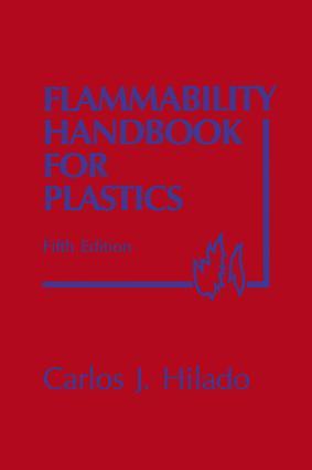Flammability Handbook for Plastics: 5th Edition (Hardback) book cover