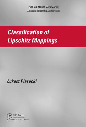 Classification of Lipschitz Mappings: 1st Edition (e-Book) book cover