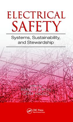 Electrical Safety: Systems, Sustainability, and Stewardship, 1st Edition (e-Book) book cover