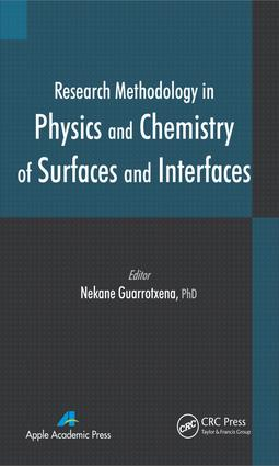 Research Methodology in Physics and Chemistry of Surfaces and Interfaces: 1st Edition (e-Book) book cover