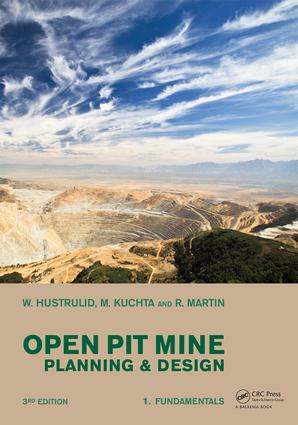 Open Pit Mine Planning and Design, Two Volume Set & CD-ROM Pack