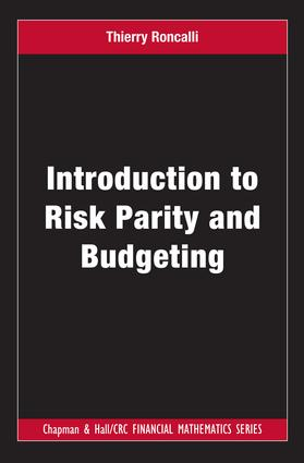 Introduction to Risk Parity and Budgeting: 1st Edition (e-Book) book cover