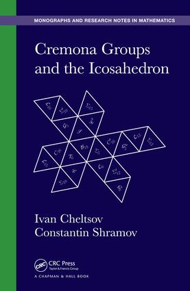 Cremona Groups and the Icosahedron: 1st Edition (e-Book) book cover