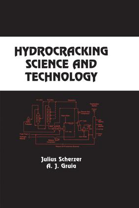 Hydrocracking Science and Technology: 1st Edition (Hardback) book cover