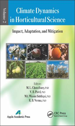 Climate Dynamics in Horticultural Science, Volume Two: Impact, Adaptation, and Mitigation, 1st Edition (e-Book) book cover