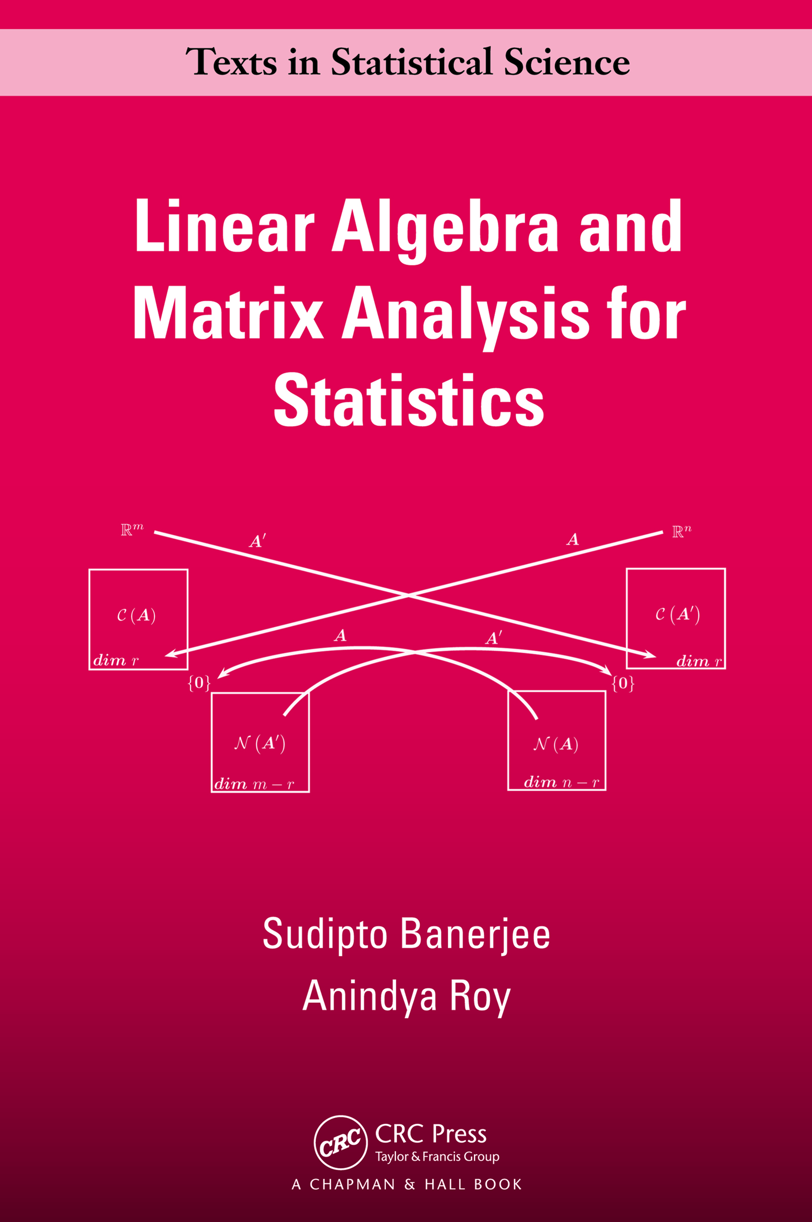 Linear Algebra and Matrix Analysis for Statistics: 1st Edition (e-Book) book cover