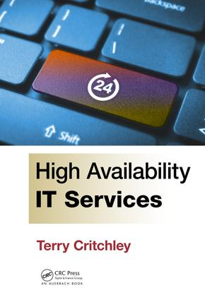 High Availability IT Services: 1st Edition (e-Book) book cover