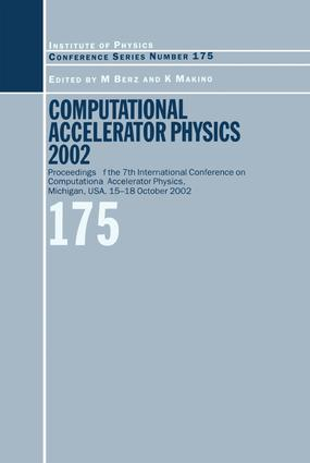 Computational Accelerator Physics 2003: Proceedings of the Seventh International Conference on Computational Accelerator Physics, Michigan, USA, 15-18 October 2003, 1st Edition (e-Book) book cover