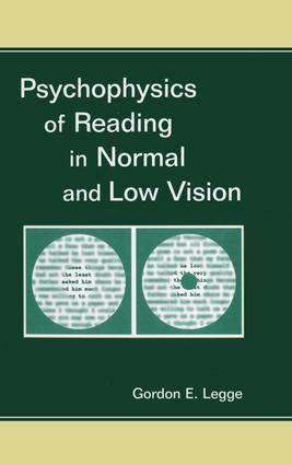 Psychophysics of Reading in Normal and Low Vision: 1st Edition (e-Book) book cover