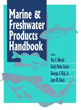 Marine and Freshwater Products Handbook: 1st Edition (Hardback) book cover