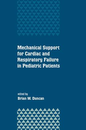 Mechanical Support for Cardiac and Respiratory Failure in Pediatric Patients: 1st Edition (e-Book) book cover