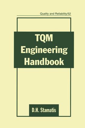 TQM Engineering Handbook: 1st Edition (e-Book) book cover