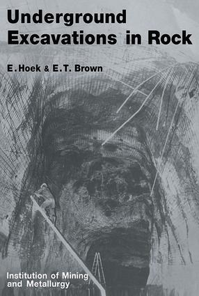 Underground Excavations in Rock: 1st Edition (e-Book) book cover