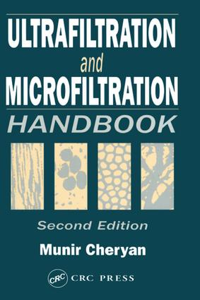 Ultrafiltration and Microfiltration Handbook: 2nd Edition (Hardback) book cover