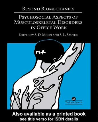 TEEN A human capital perspective for cumulative trauma disorders