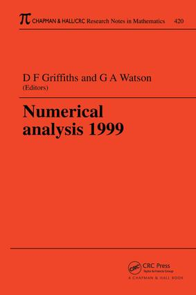 Numerical Analysis 1999: 1st Edition (e-Book) book cover