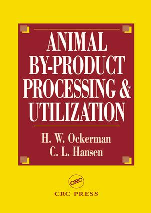 Animal By-Product Processing & Utilization: 1st Edition (Hardback) book cover
