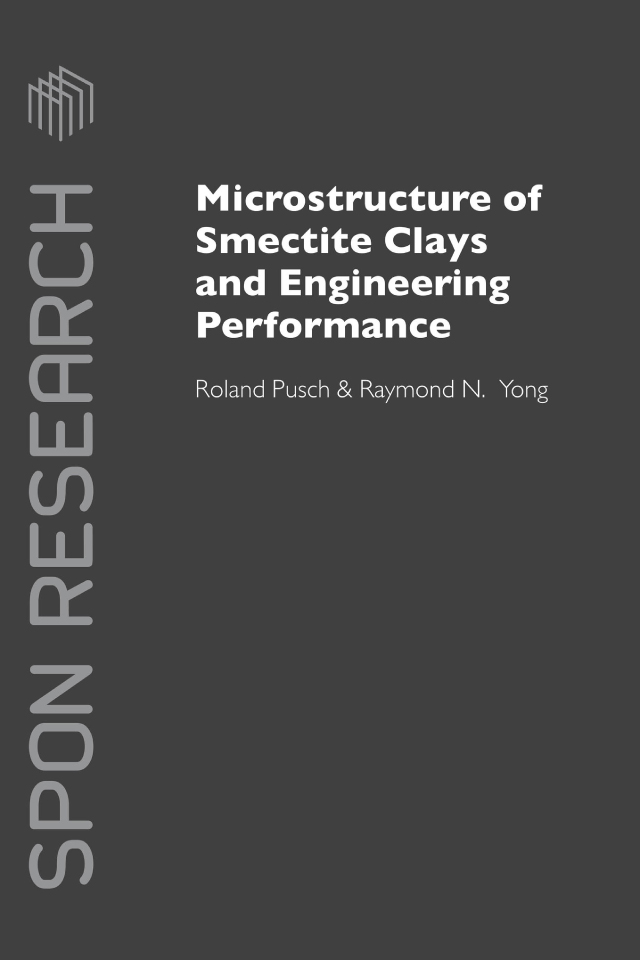 Microstructure of Smectite Clays and Engineering Performance