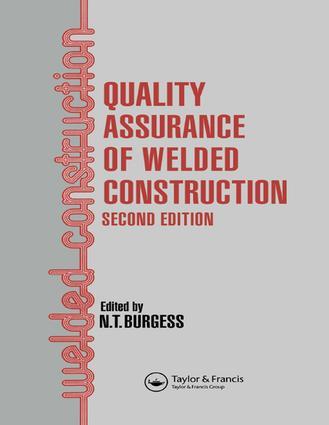 Quality ContrQI of Site Welding