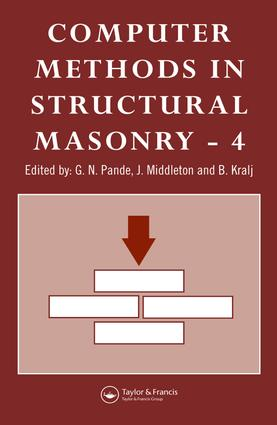 Computer Methods in Structural Masonry - 4: Fourth International Symposium, 1st Edition (Hardback) book cover