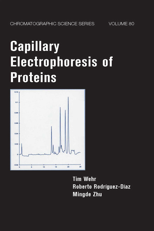 Capillary Electrophoresis of Proteins book cover
